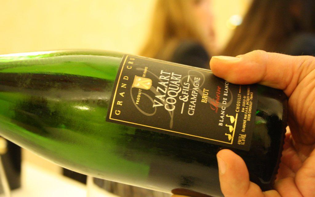 Da sud a nord dello champagne - bottiglia