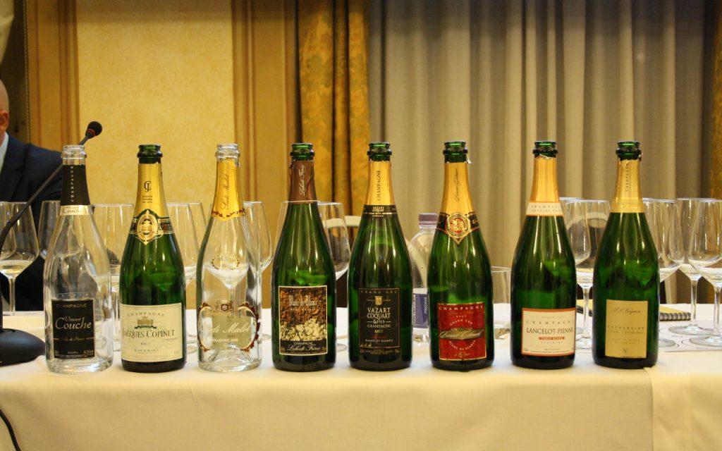 Da sud a nord dello champagne - bottiglie