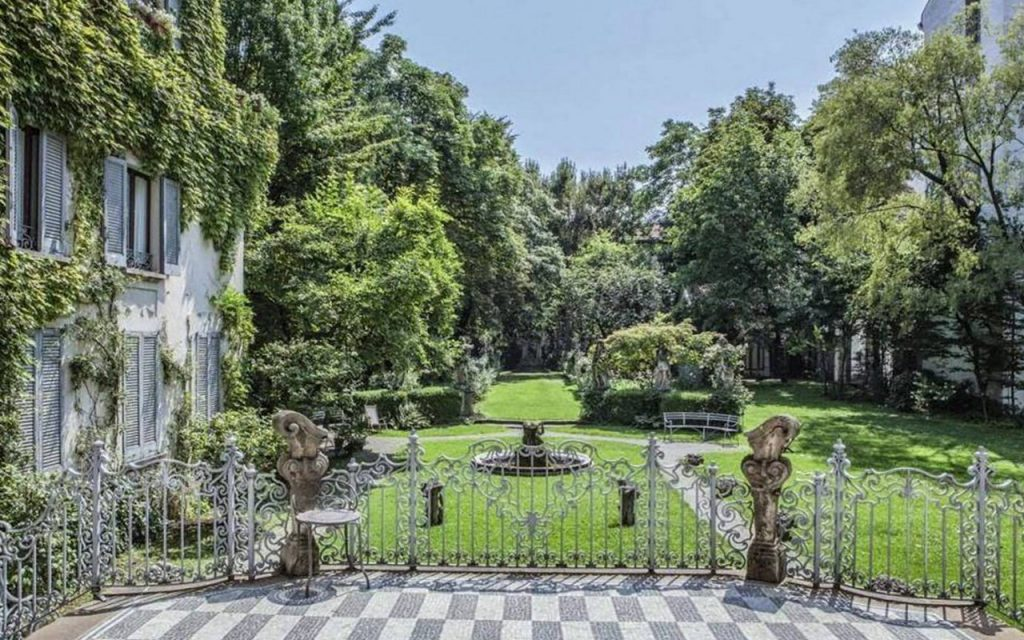 Genio e Malvasia - giardino