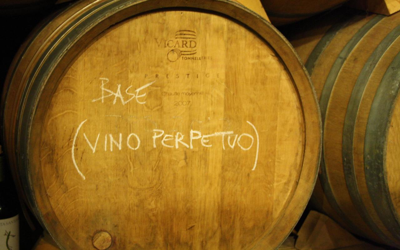 L'Opificio del Pinot Nero - Vino perpetuo