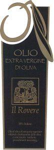 Olio dei Berici - Il Rovere - Etichetta